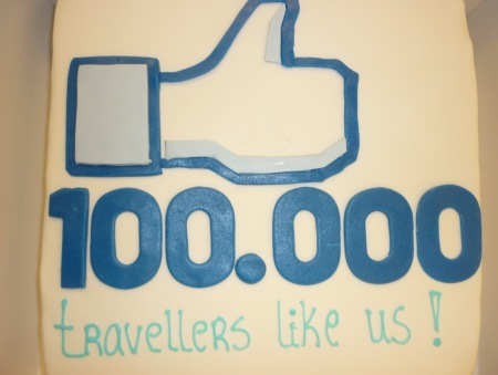 EUrail viert 100.000 Facebookfans met taart voor webcare