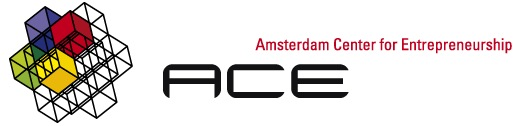 ACE Amsterdam Center for Entrepreneurship logo - social media workshop nameshapers.com