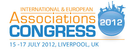 Associations Congress 2012 Liverpool logo (nameshapers.com social media event strategy and support)