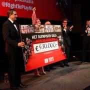Right To Play #OlympischGala resultaat 430.000 euro (Nameshapers.com)