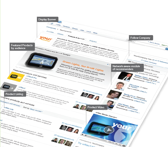 linkedin company recommendations