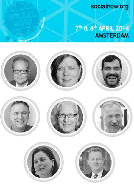 SocialNow Europe Amsterdam April 2014