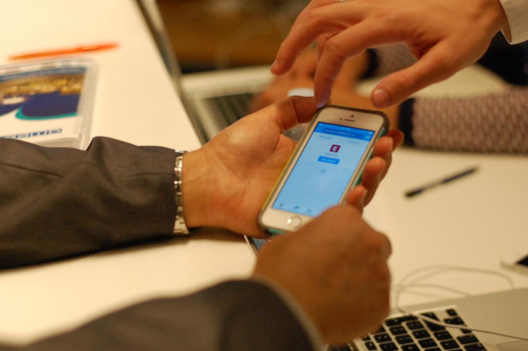 Social media helpdesk van Nameshapers op events