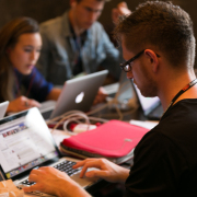 Live blogging team at TEDxAmsterdam 2013 by Patrick Stastra
