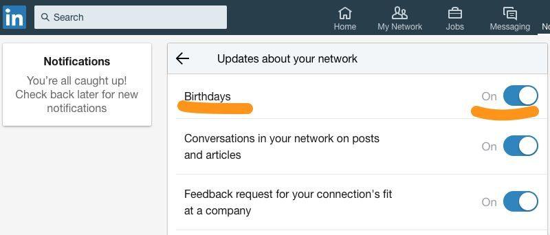 Top Nooit meer iemand een fijne verjaardag wensen op LinkedIn? Zo doe &WH03