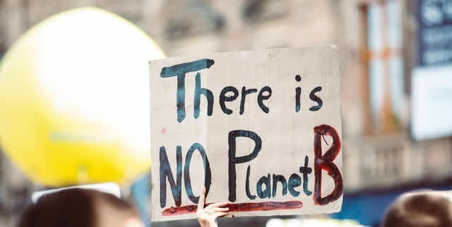climate action sign